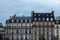Paris night on the Seine