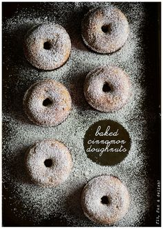 Baked Cinnamon Doughnuts l by fit, fun & delish!