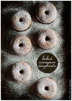 Baked Cinnamon Doughnuts l fit, fun & delish!