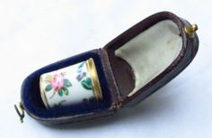Porcelain Victorian Thimble No Reserve Vintage Antique China Worcester   eBay / Feb 26, 2014 / GBP 183.00