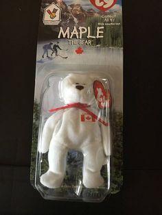 72c9de5e01d TY Beanie Baby - Maple - Mcdonald s Teenie Beanie - 1996 - RARE!