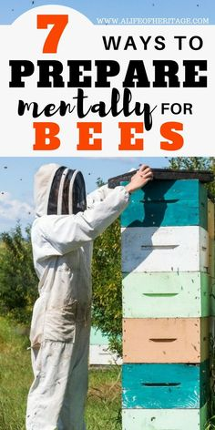 Things I Wish I had Known Before Owning Bees Beekeeping is so worth it! But what does it take mentally to prepare for bees? Find out here!Beekeeping is so worth it! But what does it take mentally to prepare for bees? Find out here! Beekeeping For Beginners, Raising Bees, Bee Boxes, Bee Farm, Backyard Beekeeping, Thing 1, Places In Europe, I Wish I Had, Save The Bees