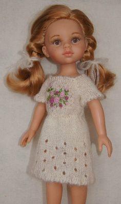 Здравствуйте. Недавно увлеклась куклами Паолками. Пока у меня только одна, но все намыливаюсь купить еще парочку. А пока вяжу для