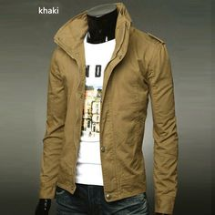 Free Shipping 2013 Spring Men's Blazer Leisure Stand Collar Fashion Slim Fit Casual Suit Top Jacket 6 Colors M XXXL MWJ065-in Blazers from Apparel  Accessories on Aliexpress.com $25.99