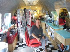 Airstream hair salon @Maria Canavello Mrasek Canavello Mrasek Canavello Mrasek Henderson Olson