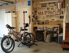 How to Set Up a Home Bike Shop For Every Space and Budget http://www.singletracks.com/blog/mtb-repair/how-to-set-up-a-home-bike-shop-for-every-space-and-budget/