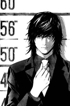 "Death Note - Teru Mikami. He's on my list of ""Guys Who Are Hot Until They Open Their Mouths"""