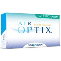 AIR OPTIX for ASTIGMATISM (3 szt)/ one month lenses (3 pieces)
