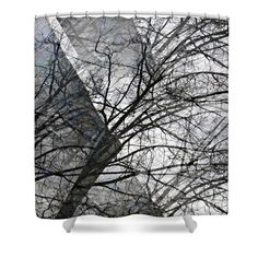 """Gray Repetitions Shower Curtain   $65 at http://fineartamerica.com/products/gray-repetitions-sarah-loft-shower-curtain.html  This shower curtain is made from 100% polyester fabric and includes 12 holes at the top of the curtain for simple hanging. The total dimensions of the shower curtain are 71"""" wide x 74"""" tall."""