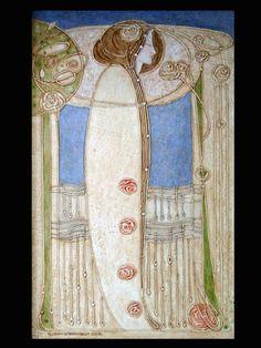 Décor de la salle à manger (House for an art lover, Glasgow), 1901 by Charles Rennie Mackintosh. Art Nouveau (Modern). design