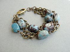 bracelet...love blue stones