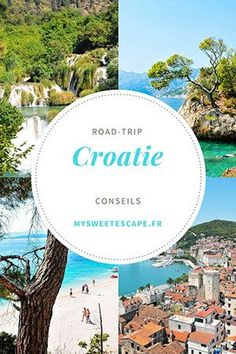 Road trip in Croatia: from Split to Dubrovnik, directions, addresses, tips Roadtrip Tips, Camping Tips, Destinations D'europe, Places To Travel, Places To Go, Road Trip Europe, Travel Europe, Hotels, Voyage Europe