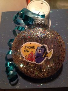 A personal favorite from my Etsy shop https://www.etsy.com/listing/210475083/finding-nemo-thank-you-sparkle-christmas