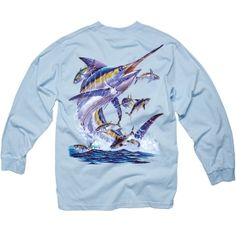 Costa Del Mar Men's Carey Chen Marlin Long Sleeve T-Shirt available at Dick's Sporting Goods