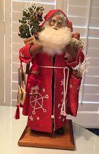 "Lynn Haney Santa Claus ""Crimson Frost"""