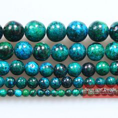 8mm Round Natural Blue Turquoise Gemstone Bead Necklace 33/'/' Fashion Jewelry AAA