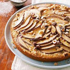Pear-Hazelnut Coffee Cake