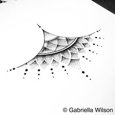 Many people mistake tattoos with more modern, rebellious cultures such as the alternative and pop-culture. Despite a lot of people being convinced that tattoos are a new thing and despite many peop… Sternum Tattoo Design, Mandala Sternum Tattoo, Tattoo Dotwork, Underboob Tattoo, Dot Tattoos, Bild Tattoos, Forearm Tattoos, Body Art Tattoos, Octopus Tattoos
