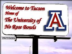 The Roses don't grow in Tucson.