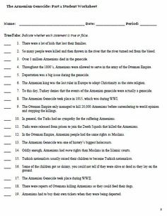 Armenian Genocide Worksheet: my boy jack world war i critical thinking questions first world ,