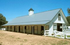 9 Stall Barn w/Living Quarters|Equine Facility Master Site Plan