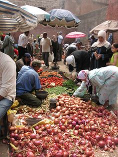 market, Marrakesh, Morocco. Photo: MR. FU-, via Flickr