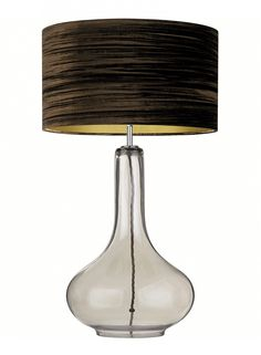 Ariadne Smoke Table Lamp - Heathfield & Co