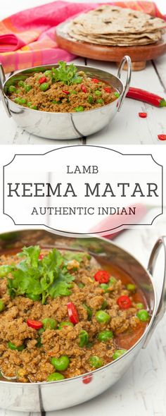 Keema Matar is a tasty minced lamb & pea dry curry from North India. Takes 30 minutes to cook is easy & delicious. Recipe for stove or Thermomix.