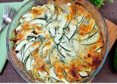 Zucchini Potato Cheese Gratin | AllFreeCasseroleRecipes.com