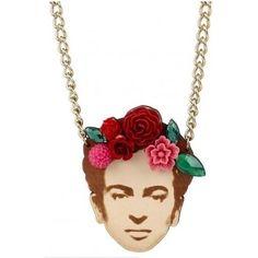 Amal Clooney wearing Tatty Devine Frida Necklace