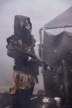 virus aesthetic Wasteland Warrior by Nuclea - virus Story Inspiration, Character Inspiration, Writing Inspiration, Mad Max, Fallout, Apocalypse Aesthetic, Wasteland Warrior, Lone Wanderer, Wattpad