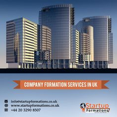 StartupFormations is one of the largest and well-known UK company registration service providers with the reputation of being the best. Contact us today to enjoy a host of benefits. Brand Registration, Trademark Registration, Uk Companies, Banking Services, Bank Account, Good Company, Accounting, Skyscraper, Entrepreneur