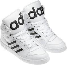 new product f9e00 23e05 kyan - jeremy scott adidas originals js instinct hi-top sneakers