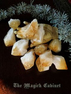 Citrine Points, Healing Crystals and Stones, Raw Crystal, Gemstone, Brazil, Natural Stone & Minerals, Golden Quartz, Citrine Points