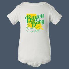 Bayou Baby t-shirt by airwaves custom tees