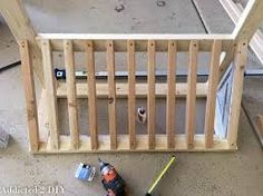 Image result for how to build a wooden bike rack