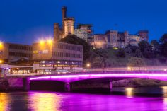 Young Street Bridge and Inverness Castle, Scotland by Stanton Champion on 500px