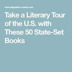 Take a Literary Tour