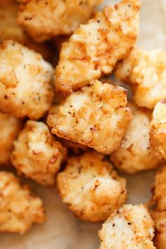 Copycat Chick-fil-A Nuggets - Just like Chick-Fil-A, but it tastes 10000x better! And the homemade honey mustard is out of this world!