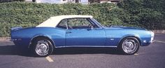 1968 CHEVROLET CAMARO RS/SS CONVERTIBLE - 24083
