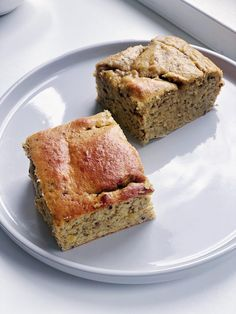 Kikærtekage af 3 ingredienser (glutenfri og sukkerfri) - Sydhavnsmor Foods With Gluten, Something Sweet, Cookie Dough, Banana Bread, Cake Recipes, Bakery, Deserts, Food And Drink, Healthy Recipes