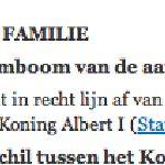 Het Nederlands van het Paleis blijft ondermaats... (Koning Filip stamt in recht (sic!) lijn af...) #FB