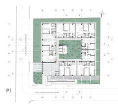 Imagen 11 de 19 de la galería de Edificio Vivalto / Najas Arquitectos. Planta