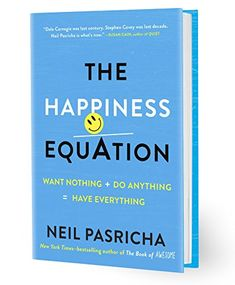 The Happiness Equation: Want Nothing + Do Anything = Have Everything by Neil Pasricha http://www.amazon.com/dp/0399169474/ref=cm_sw_r_pi_dp_dPo3wb0TK8PRV