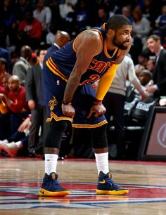 "#SoleWatch: Kyrie Irving Closes Out the Pistons in the ""Cavs"" Nike Kyrie 2"