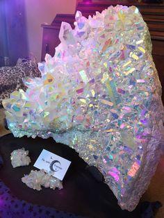 Angel Aura Quartz Crystal Love Healing Crystals by ShopFarArden