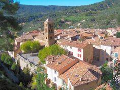 Moustiers-Sainte-Marie, Digne-les-Bains, Alpes-de-Haute-Provence, Provence-Alpes-Côte d'Azur, France