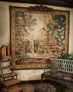 Handwoven Cascade Tapestry. h1Handwoven Cascade Tapestry_h1Handwoven Cascade Tapestry.Imagine being surrounded by the lush beauty of a garden in full bloom with cascading waters. Now, just hang it on your wall and let yourself be transported!. See More Wall Tapestries at http://www.ourgreatshop.com/Wall-Tapestries-C1115.aspx