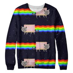 Item Is actually unisex but due to Modalyst rules we are forced to list this as a Womens Shirt. Color: Mixed Colors Material: Sweatshirts are 88% Polyester, 12% Spandex Item Fit / Dimensions: Item is