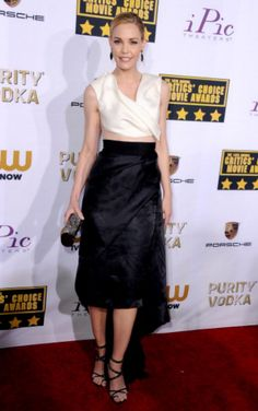 Red Carpet Rundown: The Weirdly Worst-Dressed At The 2014 Critics' Choice Awards